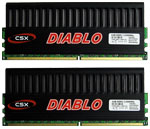 CompuStocx Diablo CSX XAC-1200 2GB Kit DDR2-1200/PC2-9600 Memory