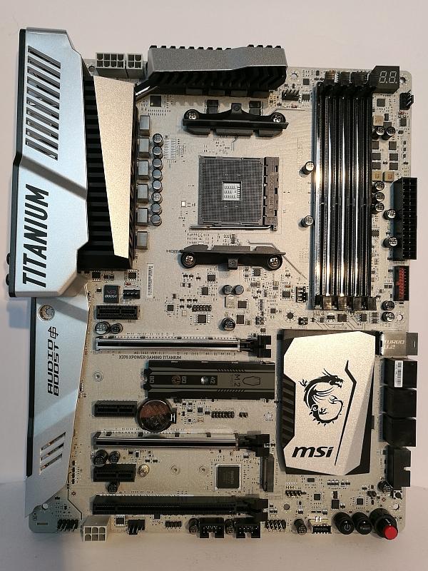 MSI X370 XPower Gaming Titanium Lesertest