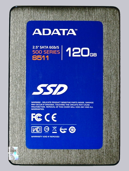 ADATA S511 120GB AS511S3-120GM-C SATA3 SSD Review The
