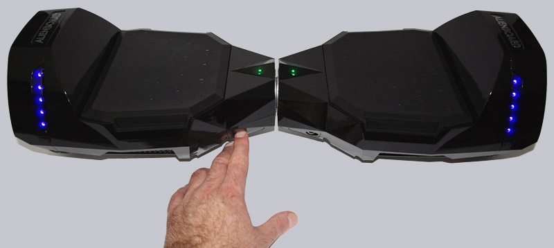 Alienboard Batwings Hoverboard Test Aufbau Design Und Sonstige Features