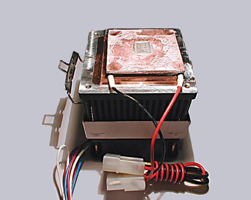 Alpha PAL 6035 mit Peltier und Kupferplatte
