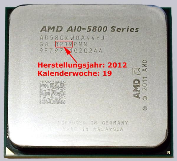 Identify CPU