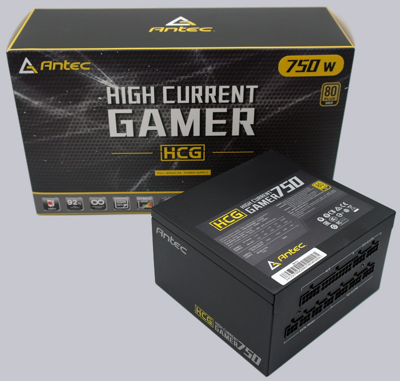 Antec HCG 750W Gold Power Supply Review Layout, Design and Features