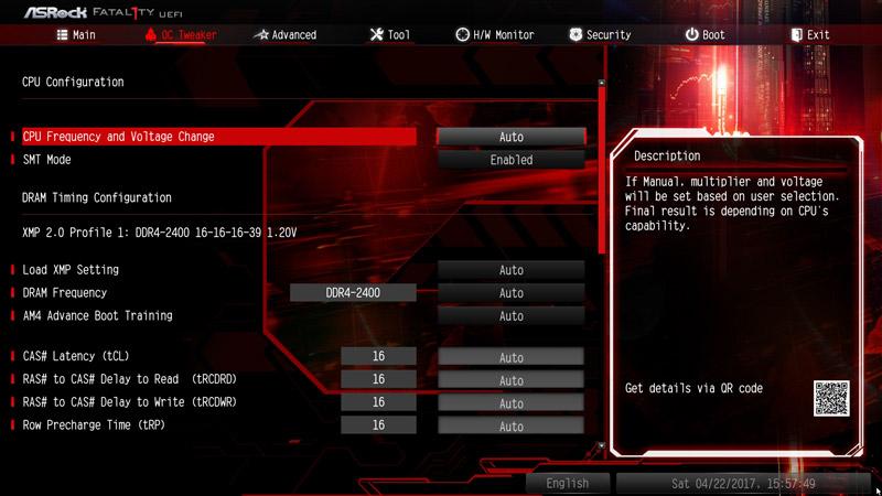 ASRock AB350 Gaming K4 AMD AM4 Motherboard Review BIOS And