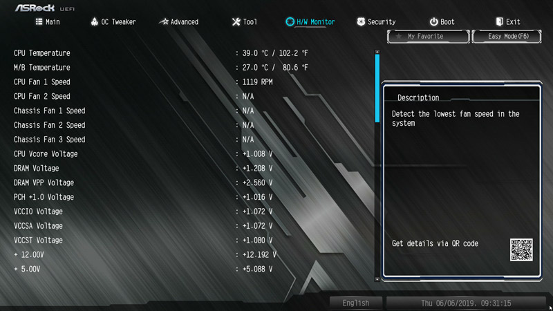 ASRock B365 Pro4 Motherboard Review BIOS and Overclocking