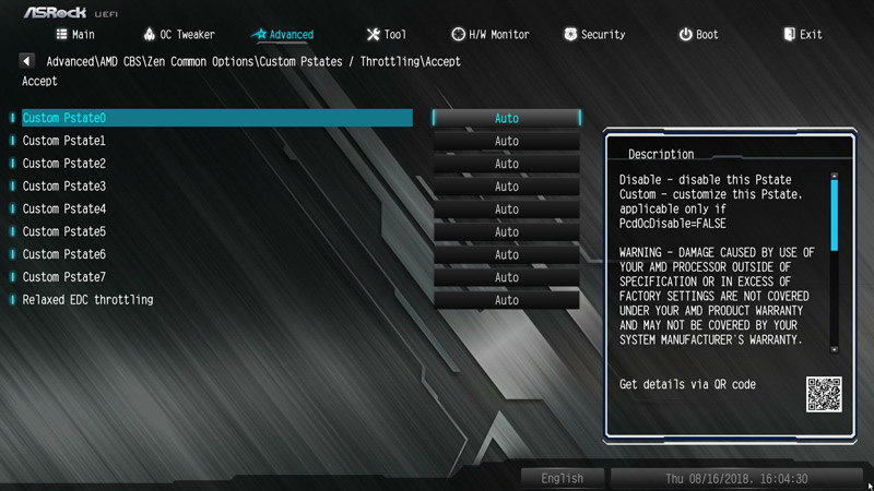 ASRock B450M Pro4 AMD AM4 Motherboard Review BIOS and Overclocking