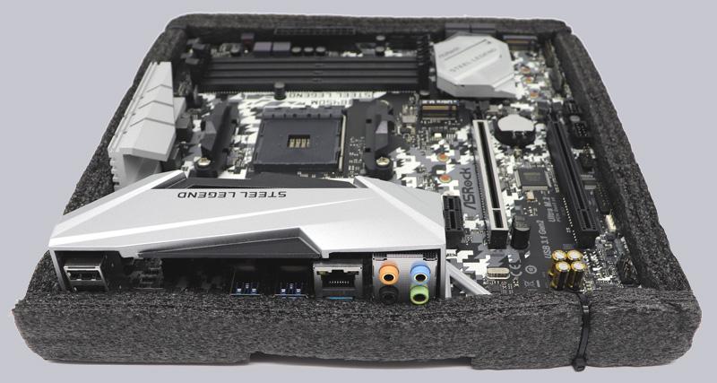 ASRock B450M Steel Legend AMD AM4 Motherboard Review