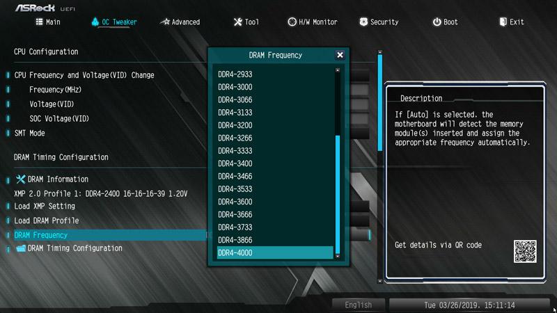 ASRock B450M Steel Legend AMD AM4 Motherboard Review BIOS