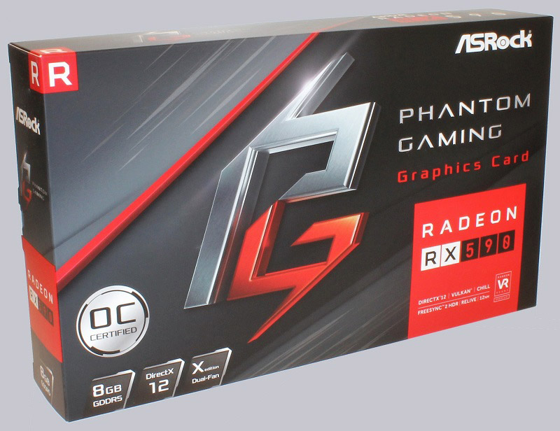 ASRock Phantom Gaming X Radeon RX 590 8G OC Review