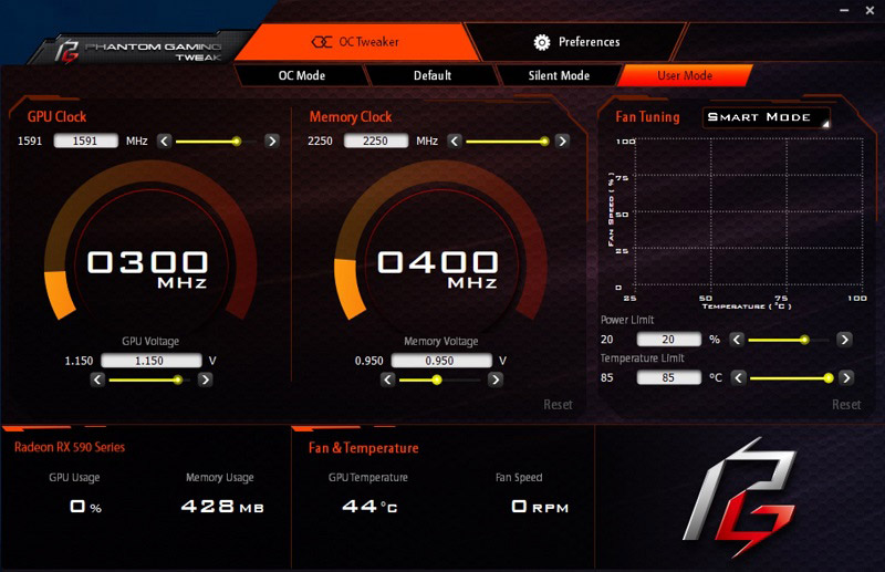 ASRock Phantom Gaming X Radeon RX 590 8G OC Review Benchmark