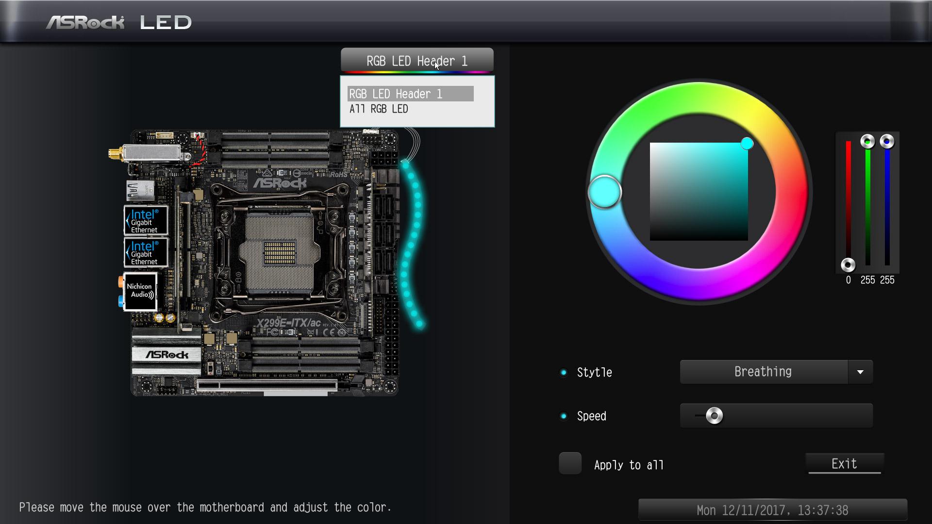 ASRock X299E-ITX/ac Intel LGA 2066 Motherboard Review Layout