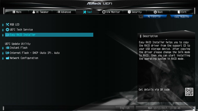 ASRock X299E-ITX/ac Intel LGA 2066 Motherboard Review BIOS and