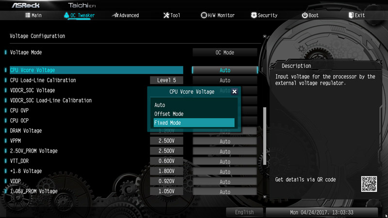 ASRock X370 Taichi AMD AM4 Motherboard Review BIOS and