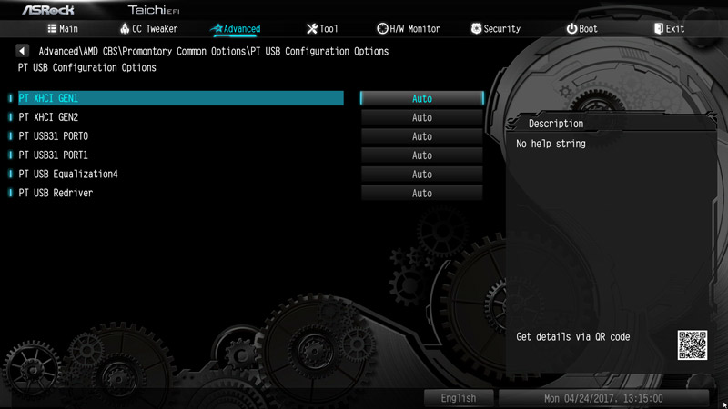 ASRock X370 Taichi AMD AM4 Motherboard Review BIOS and Overclocking