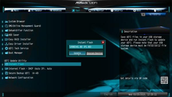 ASRock X99 Extreme4 Intel LGA 2011-3 Motherboard Review BIOS and