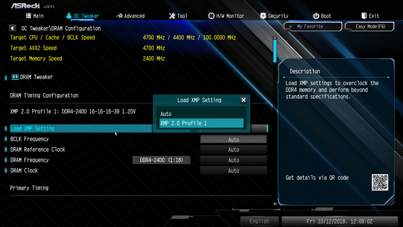 ASRock Z390 Extreme4 Motherboard Review BIOS and Overclocking