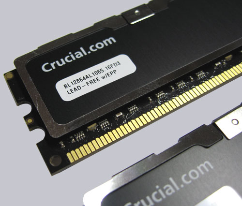 Image result for The New Crucial Ballistix PC2-8500 2GB Review