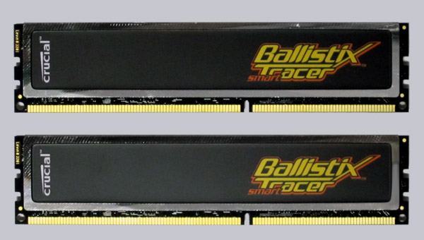 Crucial Ballistix Smart Tracer Ddr3 1600 Pc3 12800 4gb Kit