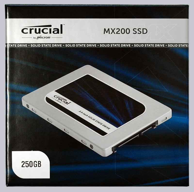Crucial MX200 250 GB SSD Review