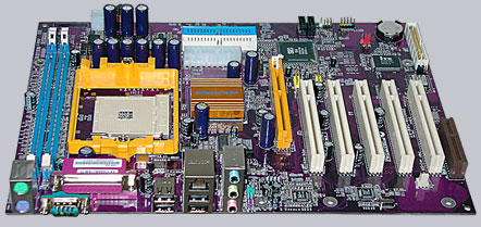 ECS Elitegroup 755-A2 Socket 754 (Athlon 64) motherboard Review