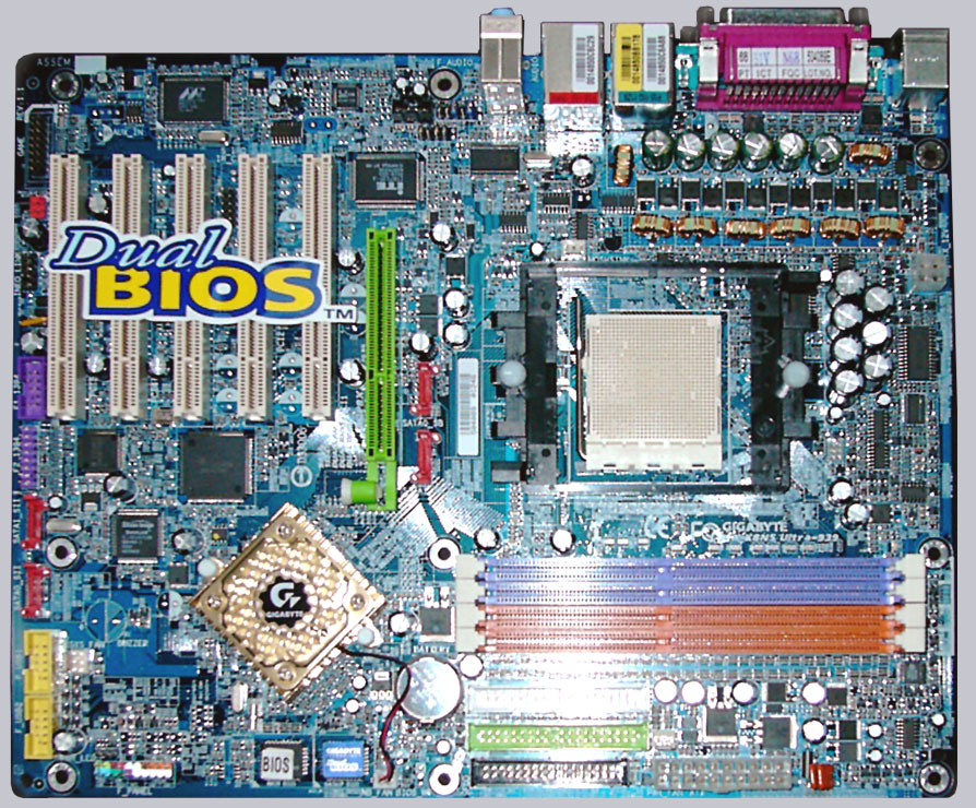 Gigabyte GA-K8NS Ultra AMD Athlon 64 Socket 939 motherboard Review ...
