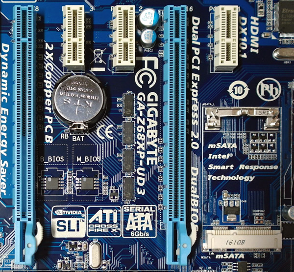 Gigabyte GA-Z68XP-UD3 Intel LGA1155 Motherboard Review