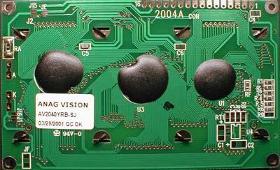 Auf der Rückseite kann man die Nummerierung der Pins deutlich erkennen.