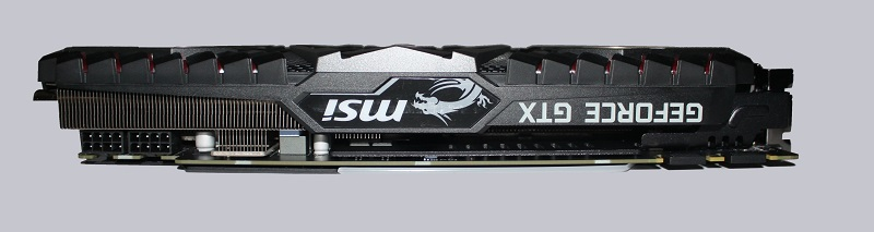 MSI GeForce GTX 1080 Ti Gaming X Trio Review Layout, design and features