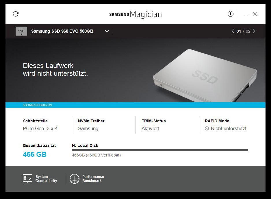 Samsung SSD 960 Evo 500 GB M 2 NVMe Review Layout, design