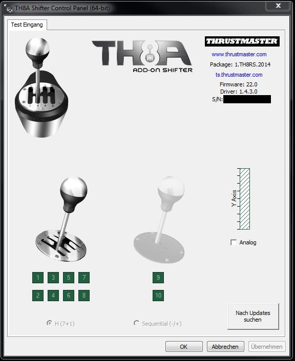 Thrustmaster TH8A Review Layout, Design and Features