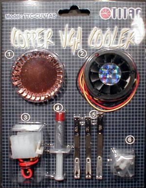 Das Titan CUV1AB GPU-Kühler Set