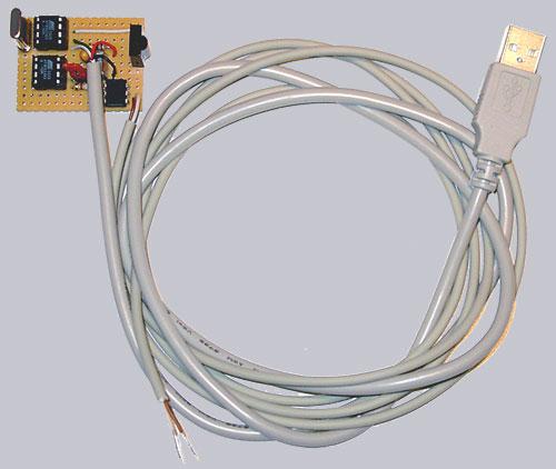 USB Infrarot Empfänger in der Ultra Version zum Ein- und Ausschalten des PCs